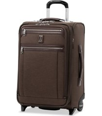 "travelpro platinum elite 22"" 2-wheel softside carry-on"