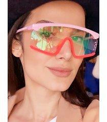 gafas de sol flat top gradient lente