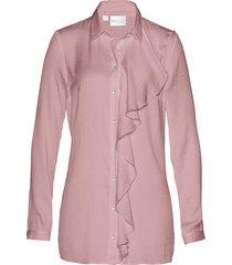 camicetta lunga in satin (rosa) - bpc selection premium