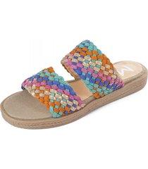 sandalia multicolor meet me 156