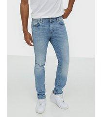 selected homme slhslim-leon 3020 l.blue st jeans w jeans ljus blå