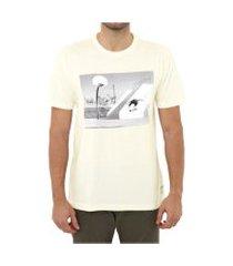 camiseta dc shoes tiago hellflip snow branca tamanho:gg incolor
