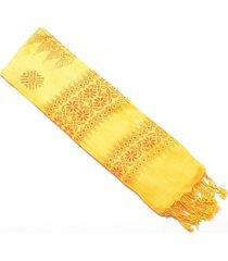 estola  para mujer amarillo-1282