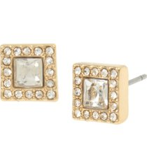 jessica simpson halo square stud earrings, 0.25""