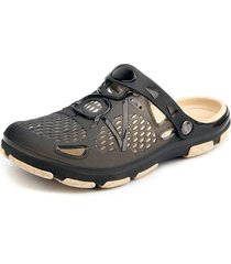 sandalias antideslizantes transpirables casuales para hombres