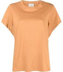 alysi batwing sleeve cotton t-shirt - orange
