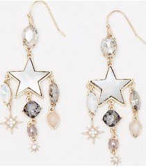 loft charmed drop earrings