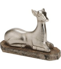 mind reader decorative aluminum reindeer accent piece
