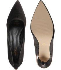 tacones para mujer marca paris hilton color negro paris hilton - negro