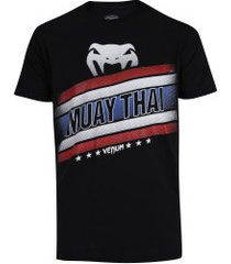 camiseta venum flag - masculina - preto