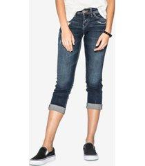 silver jeans co. suki mid rise curvy capri