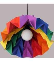 lampa wisząca origami iceberg m