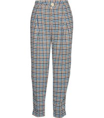 aide pantalon met rechte pijpen blauw stella nova