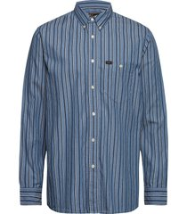rivited shirt overhemd casual blauw lee jeans