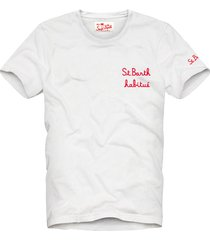 boy embroidered writing in front t-shirt