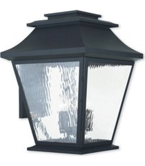 closeout! livex hathaway 5-light outdoor wall lantern