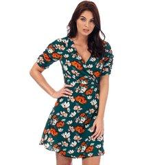 womens floral tea dress