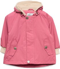 wally jacket, m outerwear rainwear jackets rosa mini a ture