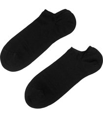 calzedonia - light cotton ankle socks, 34-36, black, men