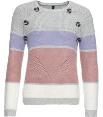 maglione (grigio) - rainbow