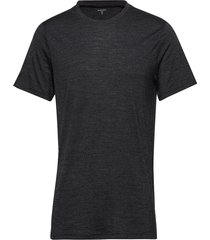 m's activist tee t-shirts short-sleeved svart houdini
