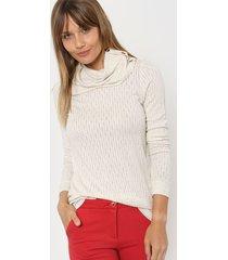 sweater natural asterisco delain