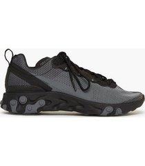 nike sportswear nike react element 55 se sneakers black