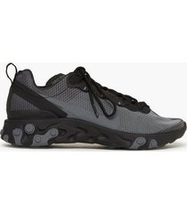 nike sportswear nike react element 55 se sneakers black