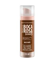 base líquida matte hd 30ml 8 fernanda - boca rosa beauty by payot único