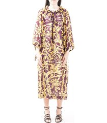 lautre chose silk dress