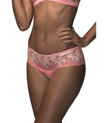 calcinha calça baixa demillus bolero 54001 rosa glacê