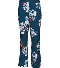 fala pants ye18 pantalon met rechte pijpen blauw gestuz