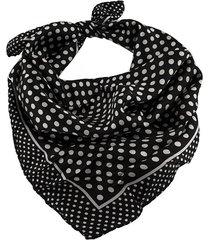 pañuelo negro bohemia estampado
