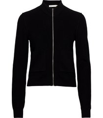 hoyaiw cardigan gebreide trui cardigan zwart inwear