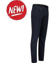 alberto jeans slim ds dual fx denim navy