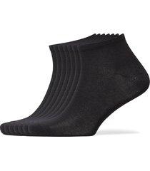 decoy sneaker org. cotton 7-pk ankelstrumpor korta strumpor svart decoy