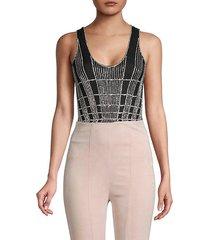 embellished bodysuit