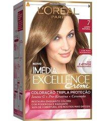 coloração imédia excellence l'oréal paris 7 louro natural