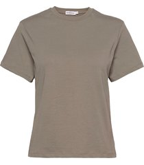 t-shirt classic t-shirts & tops short-sleeved grå bread & boxers