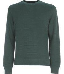 z zegna hydro cotton crew neck sweater