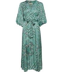 radiant dress maxi dress galajurk groen odd molly