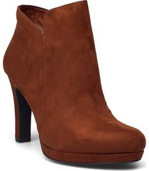 woms boots - lycoris shoes boots ankle boots ankle boot - heel brun tamaris