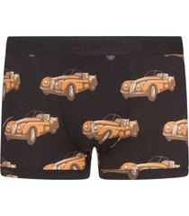 dolce & gabbana car-print boxers - black
