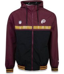 jaqueta windbreak washington redskins nfl new era masculina
