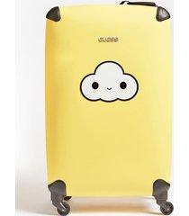 walizka na kółkach z chmurką