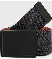 cinturón azul-negro quiksilver