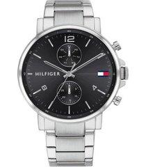 reloj tommy hilfiger 1710413 plateado acero inoxidable