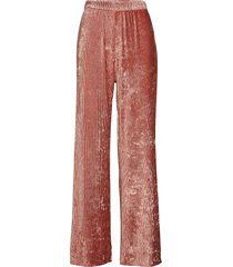 bardot trousers vida byxor rosa aéryne