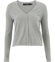 cardigan vmhappy basic ls v-neck
