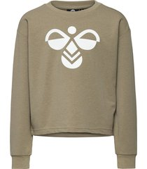 hmlcinco sweatshirt sweat-shirt tröja grå hummel